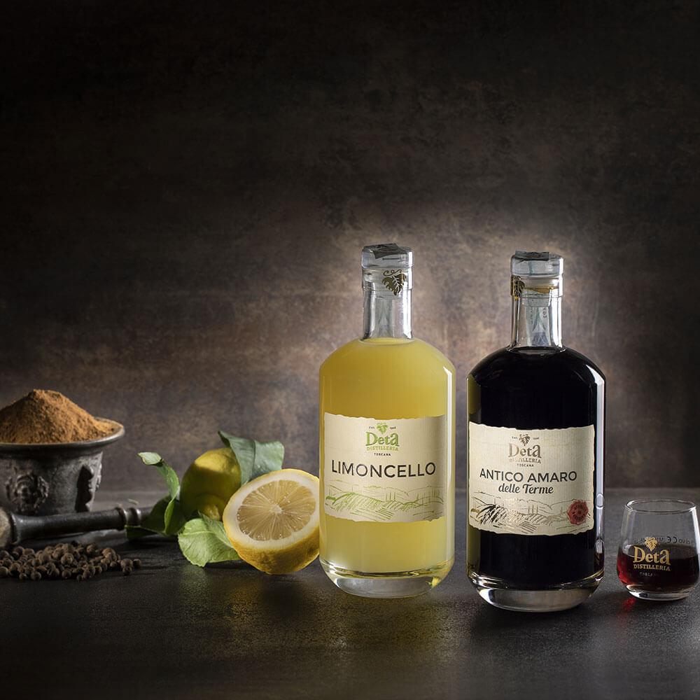 Scopri i liquori della Distilleria Deta