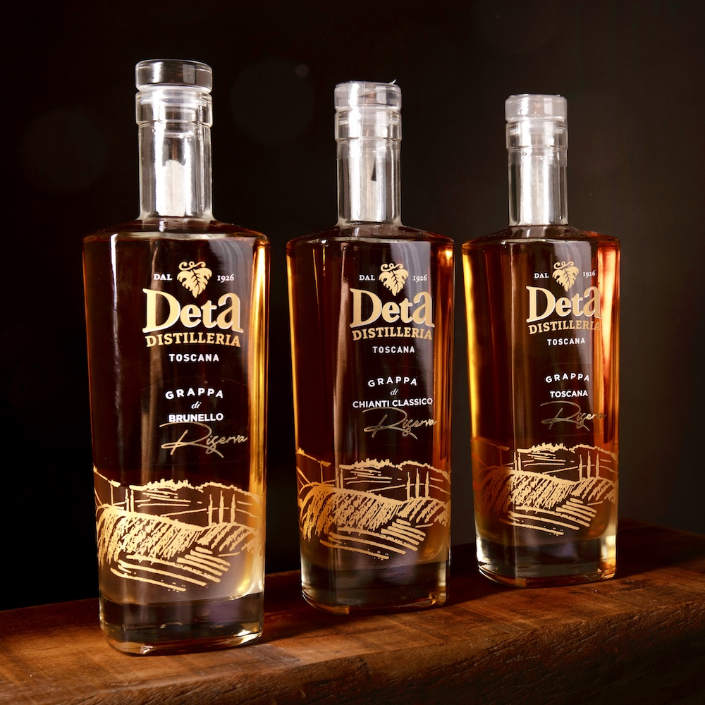 Scopri le grappe della Distilleria Deta