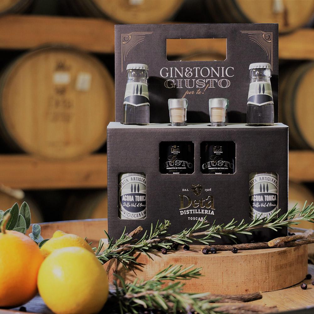 Scopri i box della Distilleria Deta